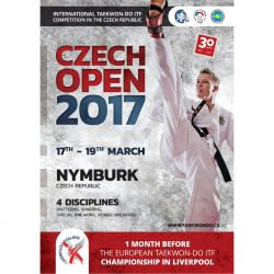 Czech Open 2017 - invitation